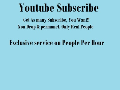Guarantee 100 Youtube subscribers to your youtube channel
