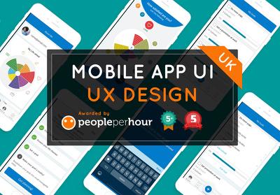 MOBILE APP UX UI DESIGN