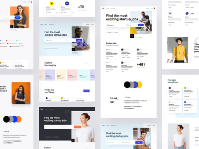 Design Professional And Creative Website Landing page / Homepage