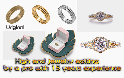 Do precision jewellery enhancement, 10 jewelry images