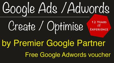 Create / set-up/ optimise Google ads/ Adwords