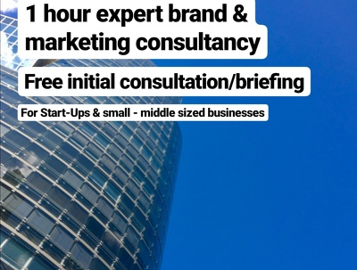 1 HOUR Expert Brand & Marketing Consultancy