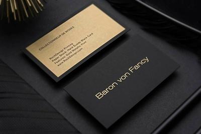 design professional unique business card & stationery