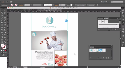 Create 1 print/digital/web graphic using Adobe Illustrator
