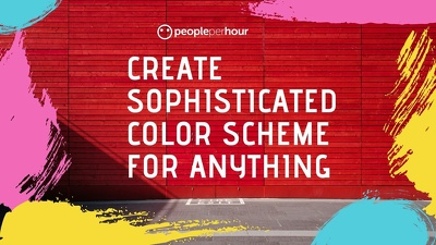 Create sophisticated color scheme for anything