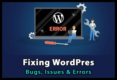 Fix simple wordpress bugs