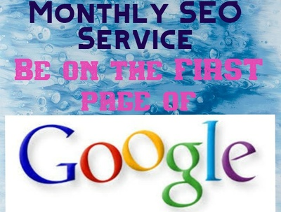Do monthly SEO to rank website and keywords
