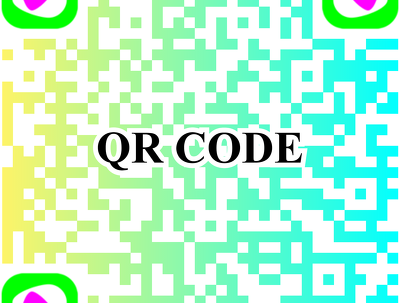 Attractive and supreme worldclass QR codes with company logo
