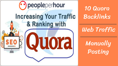 Do 10 top Quora answers backlink to increase web traffic