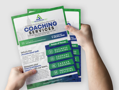 Design a creative brochure and flyer for you