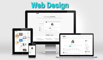 Website design, convert PSD to responsive html, css and js