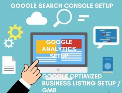 Setup Optimized Google Listing or GMB / Local SEO