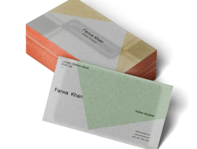 Create the professional and elegant business card