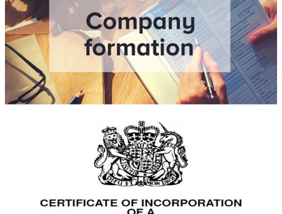 Company Formation (UK Ltd Company) - C/H  Fees included