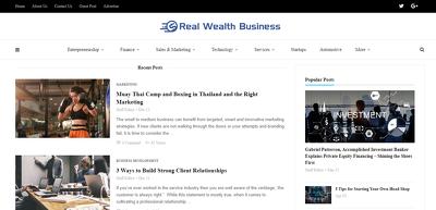 Add A Guest Post On Realwealthbusiness.com- DA 46