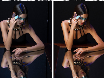 Professionally Retouch Edit Photos X 2 Images