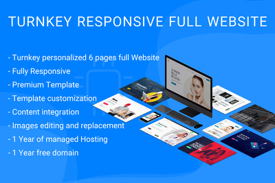 Develop Turnkey Wordpress Website for Business/Corporate