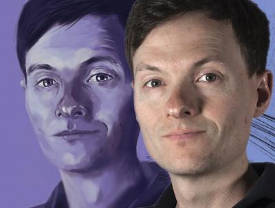 Digitally paint/draw your portrait!