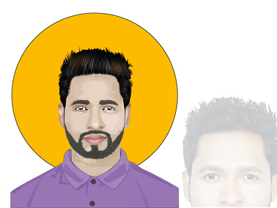 Draw cartoon portrait realistic avatar or vector from a photo