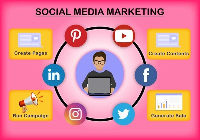 run one social media business page to generate sell & traffic