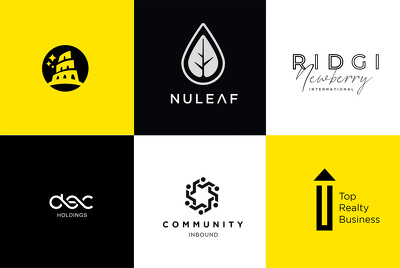 Bespoke Modern and Minimalist Logo Design 3 Concepts + Revisions
