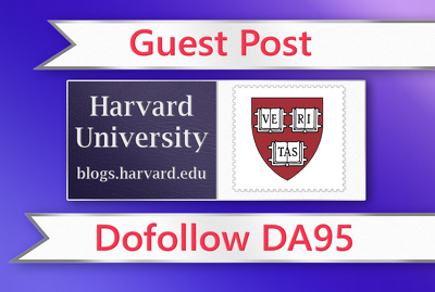 Guest Post on Harvard University Blog. Harvard.edu - DA95