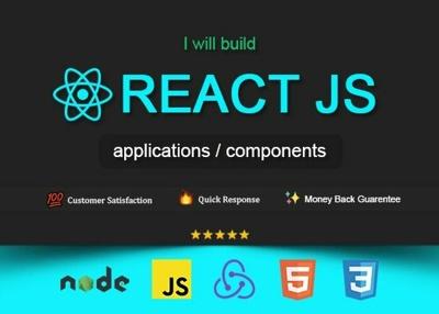 Write a React/ React Native application