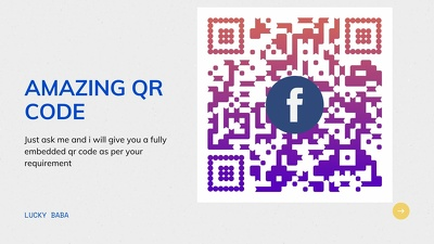 Create a tailored QR code as per you need