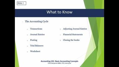 Make financial statements