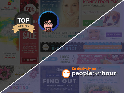 Design you a custom website banner