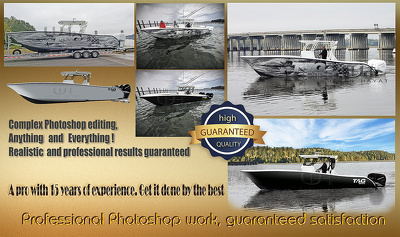 Professionally edit your images, magical results, 2 images