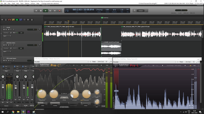 Edit, mix and master audio for your podcast or audiobook