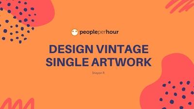 Design Vintage Single Artwork