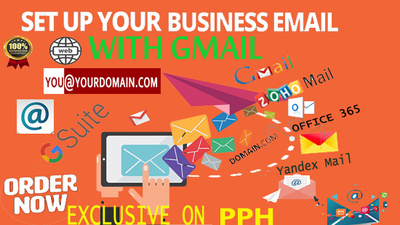 Setup professional business email with website domain Gsuite