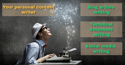 Write your 500 word SEO optimized articles