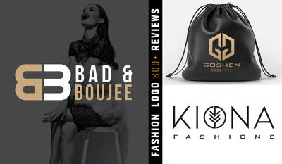 Design modern fashion logo design in 24 hours