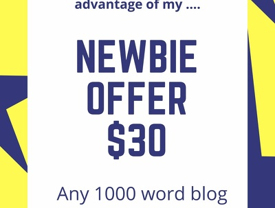 Write a 1000 word article or blog post