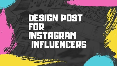 design Post For Instagram Influencers