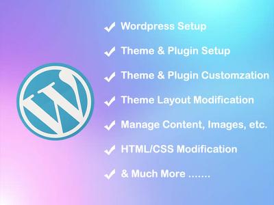 Wordpress Install | Wordpress Plugin And Theme Customization