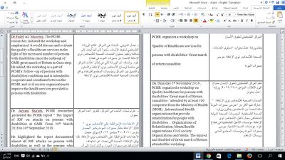 Translate 550 English-Arabic words perfectly well