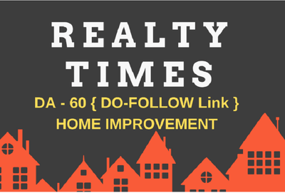 Write and Publish Guest Post On Realtytimes.com - DA60, TF59