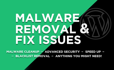 Remove Malware & Recover Hacked WordPress Site in 24 hours!
