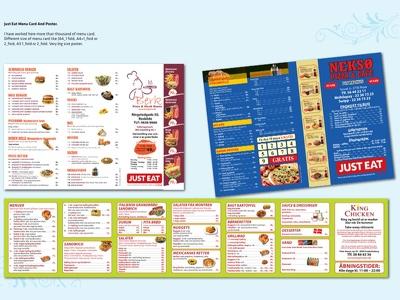 Design your menu card