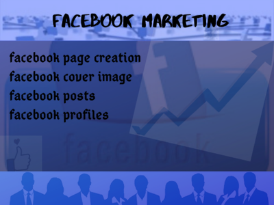 Design facebook page and manage posts
