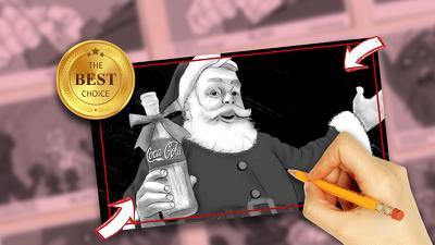 Draw an awesome 6 panels storyboard | Award-Winning Artist