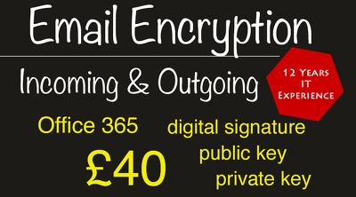 Encrypt your incoming and outgoing email