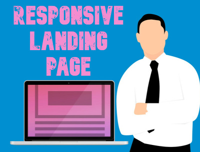 Create a responsive landing page