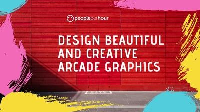 Design beautiful and creative arcade graphics