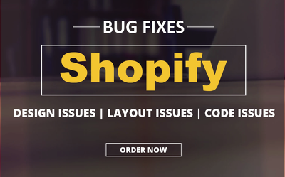 Fix shopify website issues
