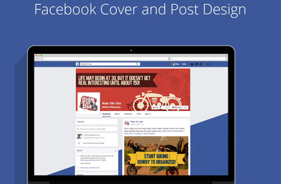 Design mind blowing and unique Facebook business cover photo